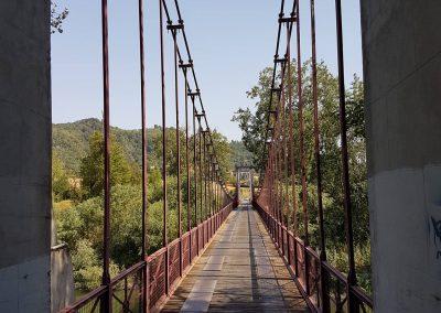 Il ponte sospeso di Vizzano
